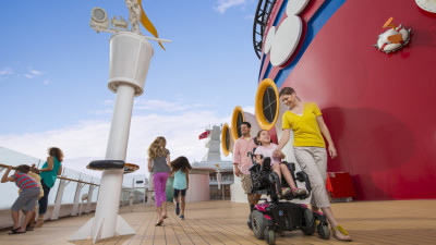 Disney Cruise Line – Ship Deck