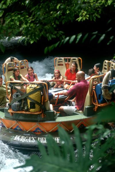 Kali River Rapids Attraction