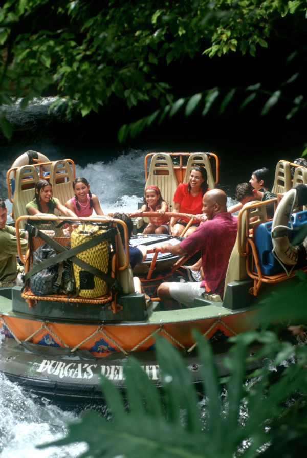 Kali River Rapids Attraction