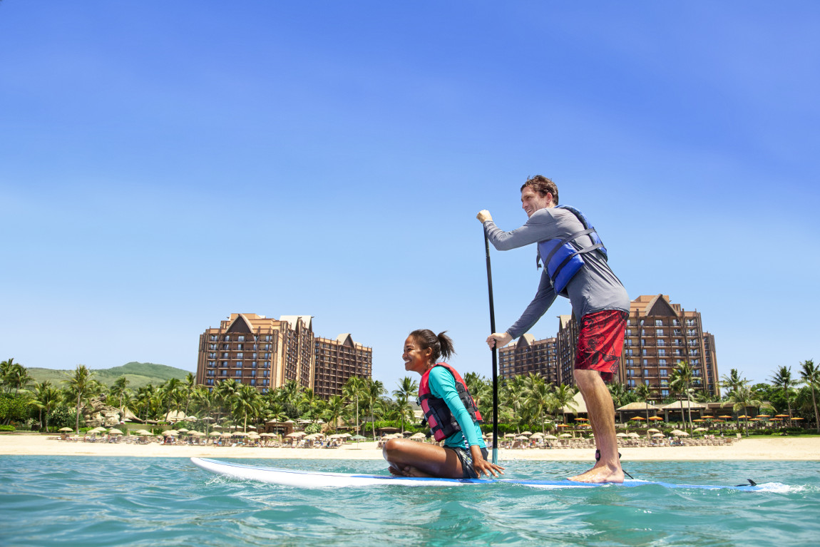 Aulani – Paddle Boarding