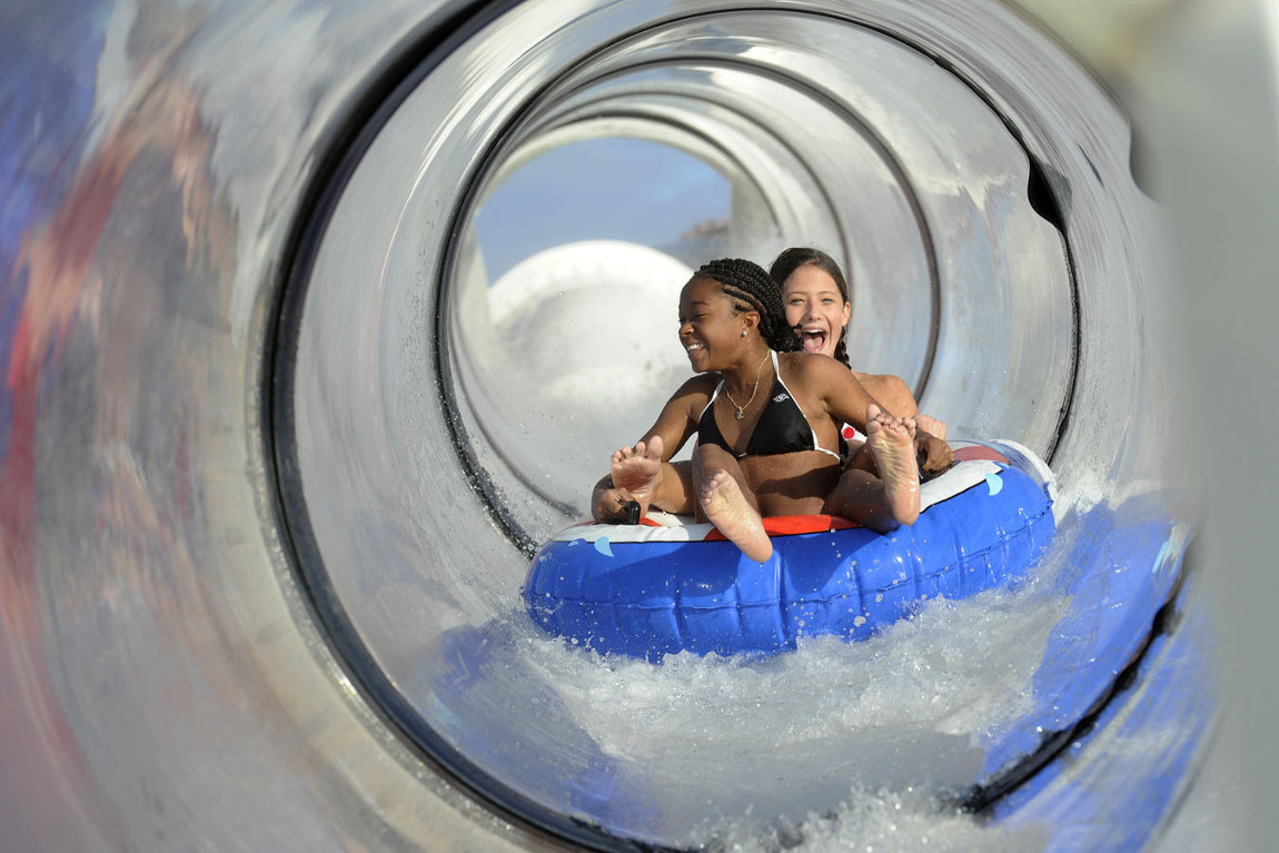 AquaDuck Water Slide