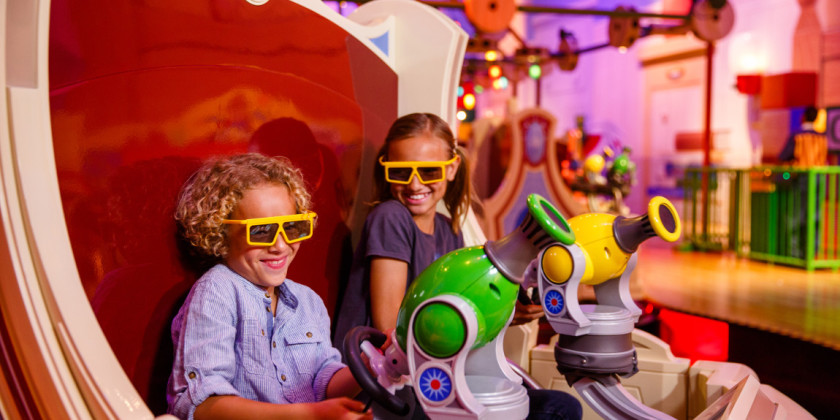 Toy Story Midway Mania! Attraction